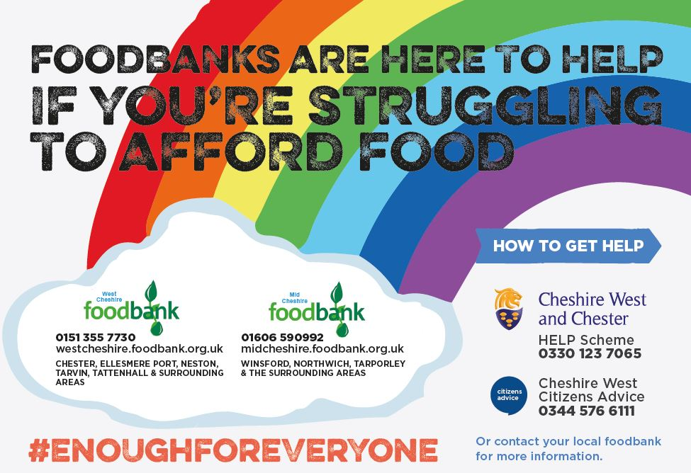 Foodbanks - Cheshire West & Chester